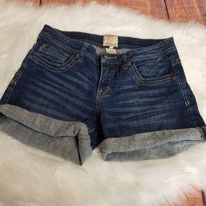 Arden B women's denim shorts blue size 4